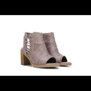 Not Rated Tracey Peep Toe Bootie